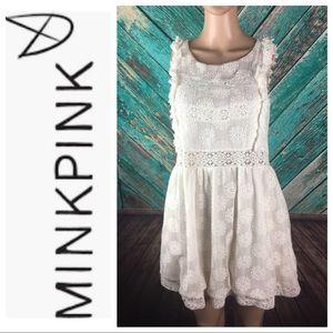 Minkpink Wild Traveler Lace Dress